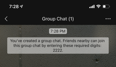 Private Group with Password