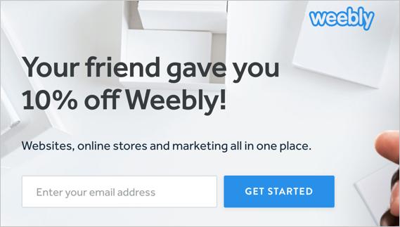 10% Weebly Discount Code