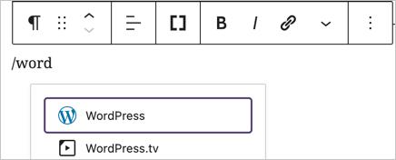 Find WordPress Embed