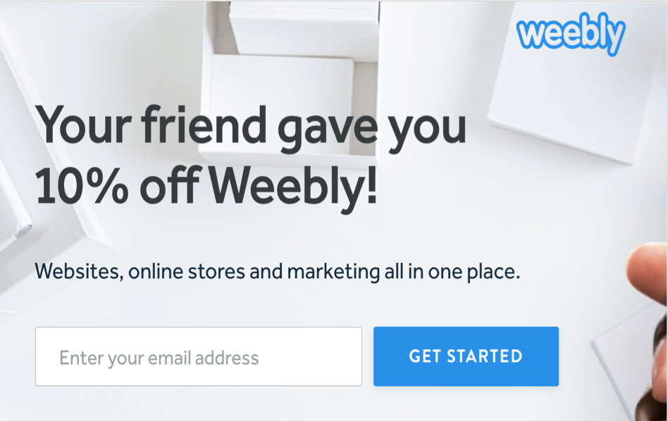 Get 10% Weebly Discount Code
