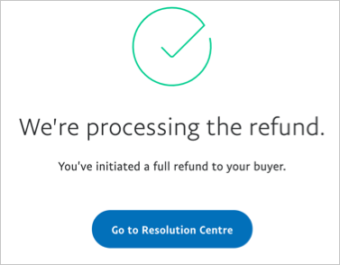 Refund Processed Successfully