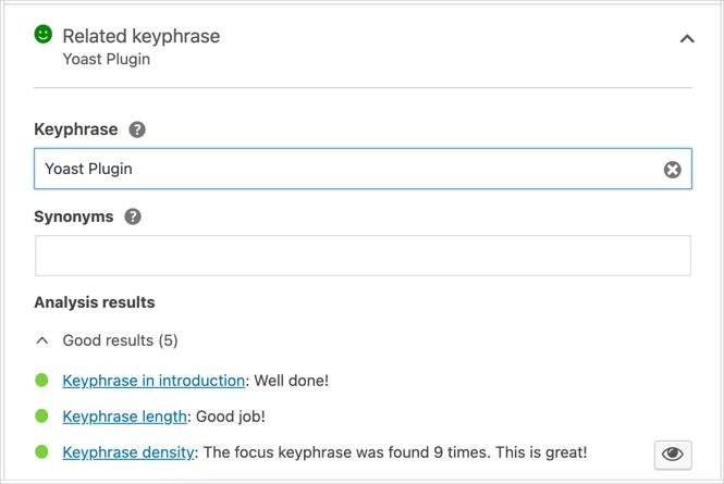 Related Keyphrase