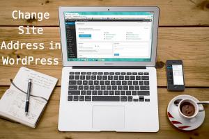 Change Site Address in WordPress
