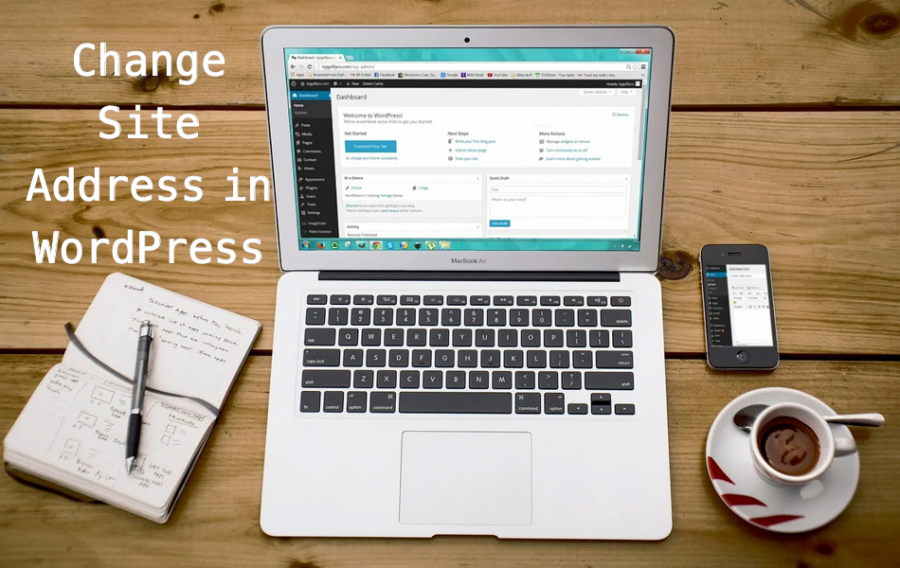 Change Site Address in WordPress