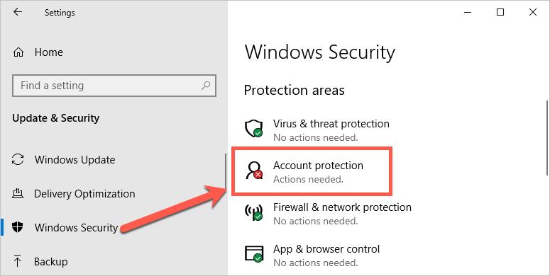 Check Windows Security