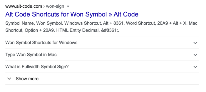 FAQ Rich Snippets в поиске Google