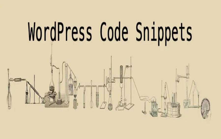 Free WordPress Code Snippets