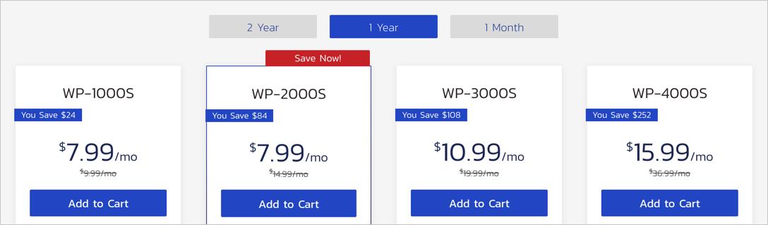 Стоимость хостинга Inmotion