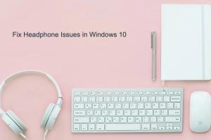 Fix Headphone Issues in Windows 10