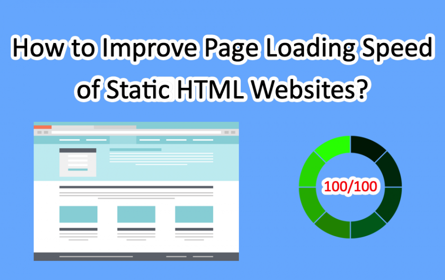 Improve Page Loading Speed of Static HTML Websites