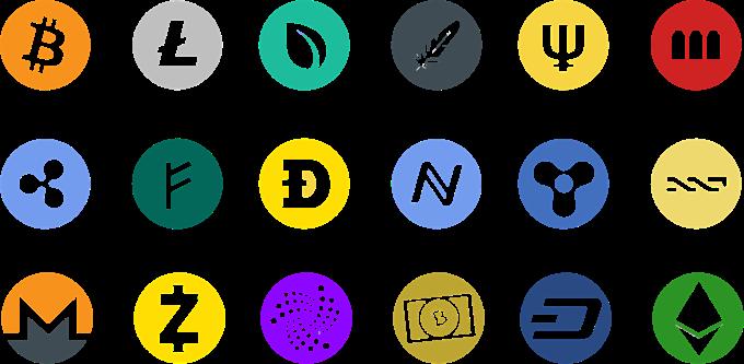 List of Cryptocurrencies