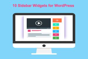 10 Sidebar Widgets for WordPress