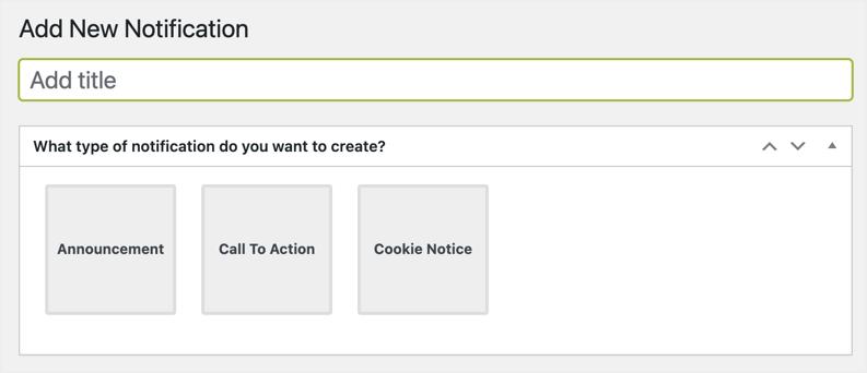 Create New Notification Bar in FooBar