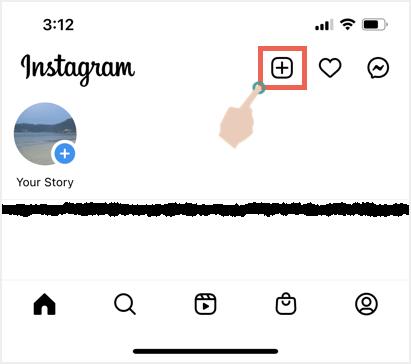 Create Post in Instagram