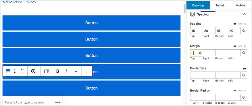 Free GenerateBlocks Button Block