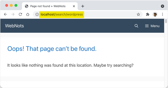 Search Not Working