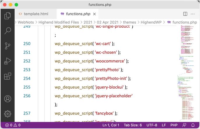 Редактор кода Visual Studio