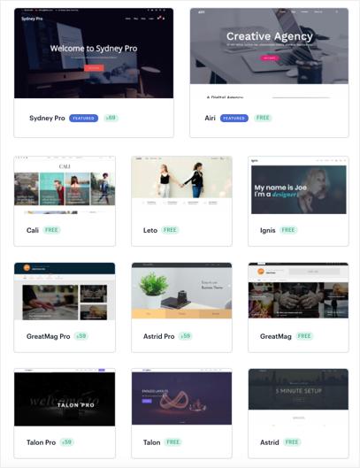 aThemes WordPress Themes
