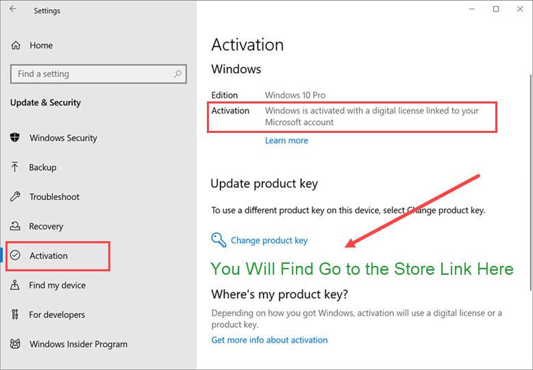 Purchase Windows 10 Pro