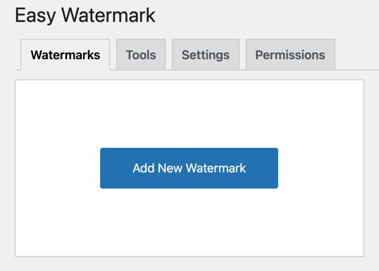 Add New Watermark