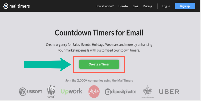 Create a Timer with MailTimers