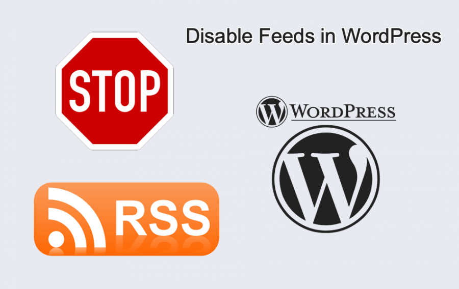 Disable Feeds in WordPress