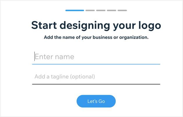 Enter Logo Name and Tagline
