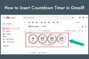 How to Insert Countdown Timer in Gmail?