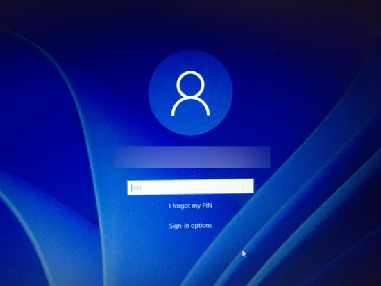 Login to New OS