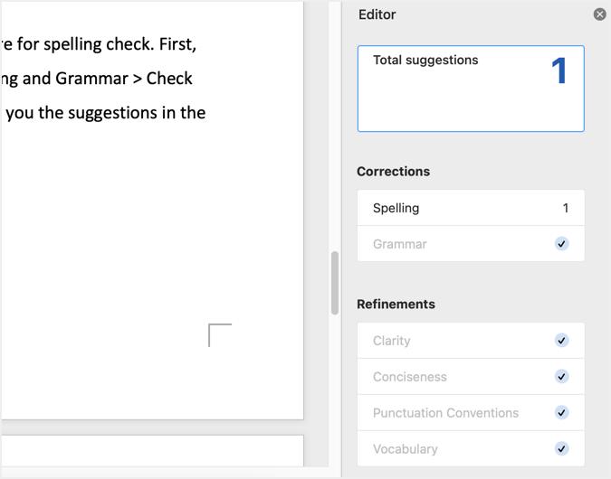 Spell Check Editor