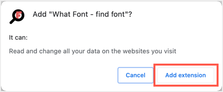 Add Extension in Chrome