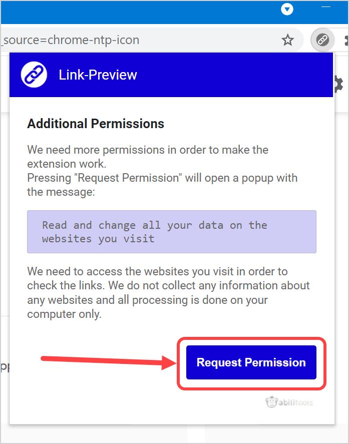 Additional Permissions