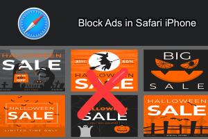 Block Advertisements in Safari