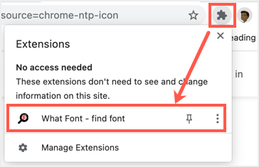 Click Extension to Enable