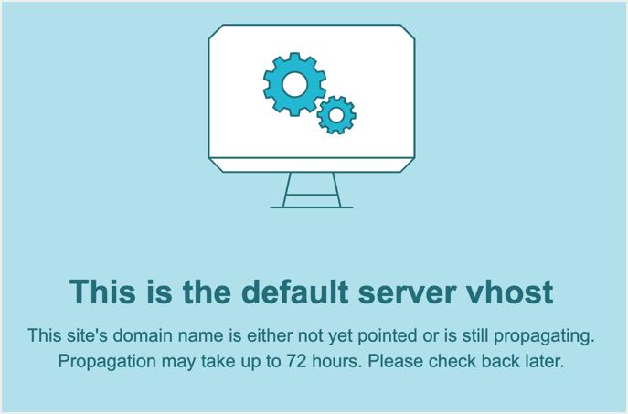 Ошибка распространения DNS