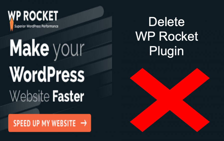 Delete WP Rocket Plugin