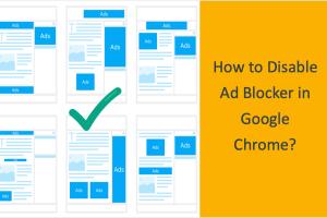 Disable Ad Blocker in Google Chrome