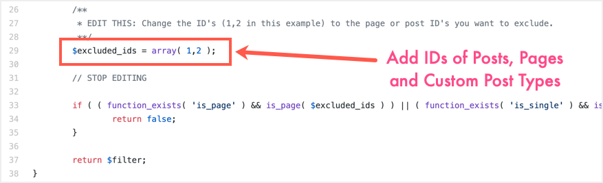 Disable Page Caching on Specific Pages