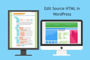 Edit Source HTML in WordPress