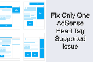 Fix Only One AdSense Head Tag Supported Issue