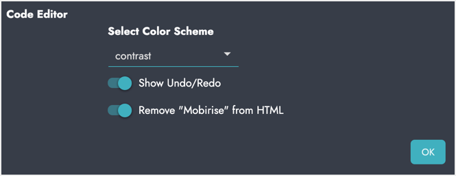 Remove Mobirise from HTML