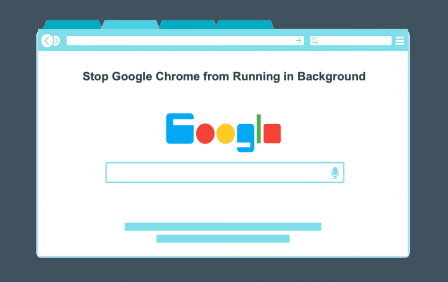 Stop Google Chrome from Running in Background