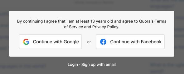 Content Locking in Quora
