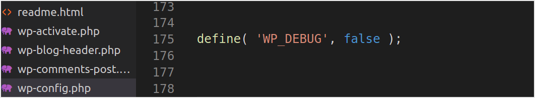Enable Debugging in WordPress