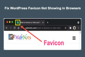 Fix WordPress Favicon Not Showing in Browsers