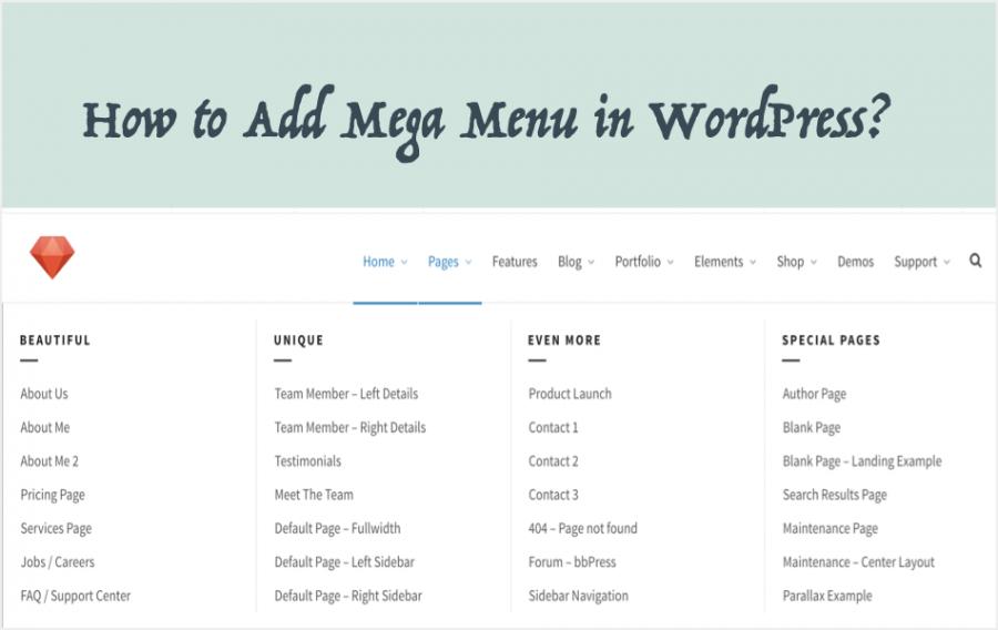How to Add Mega Menu in WordPress?