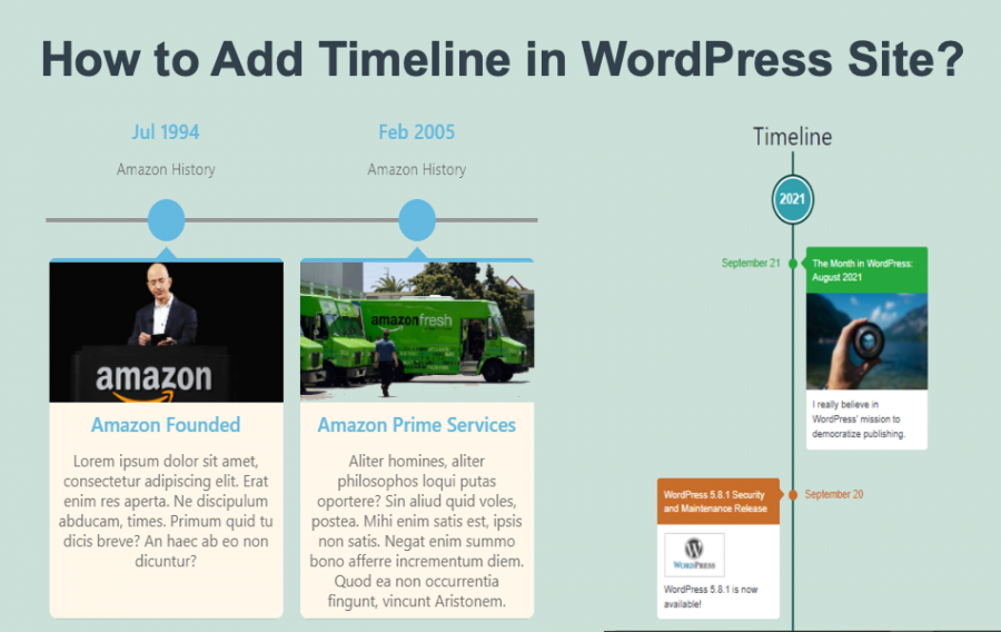 How to Add Timeline in WordPress Site?