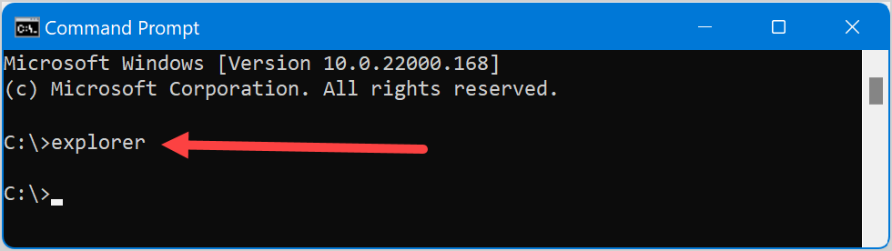 Launch from Command Prompt