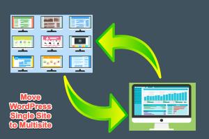 Move WordPress Single Site to Multisite