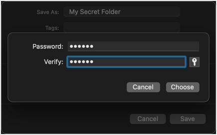 Type Password